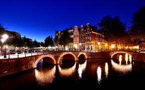 Amsterdam, Ciudad Amsterdam, capital y ciudad más grande de los Países Bajos, Países Bajos, Situado en la provincia de Holanda del Norte