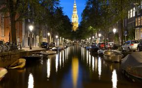 Amsterdam, Город Амстердам, столица и крупнейший город Нидерландов, Нидерланды, Расположен в провинции Северная Голландия