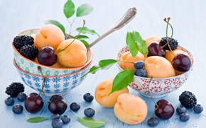 fruit, BERRY, food, apricots
