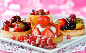 BERRY, dessert, food, sweets, strawberries