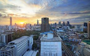Bangkok, Hauptstadt und größte Stadt von Thailand, Thailand