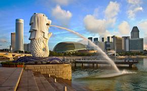 Singapur, Singapur, miasto