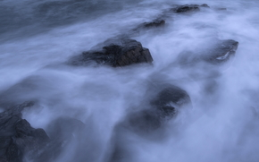 море, океан, водоем, камни, скалы