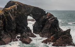 Meer, Ozean, Teich, Steine, Himmel, Rocks