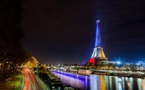 Eiffel Tower, Paris, France, Эйфелева башня, Париж, Франция