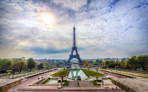 Eiffel Tower, Paris, France, Eiffel Tower, Paris, France