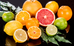 fruit, oranges, Lemon, citrus, grapefruit