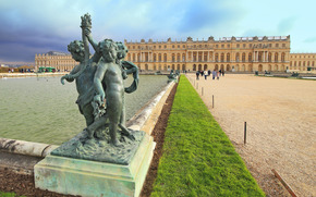 Версаль, дворец, Франция