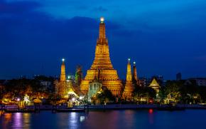 Bangkok, capital y ciudad más grande de Tailandia, Tailandia