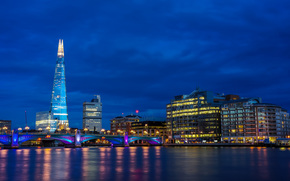 Blue Hour, London, город