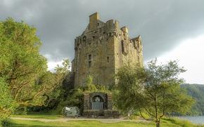 Eilean Donan Castle, Scotland, castle