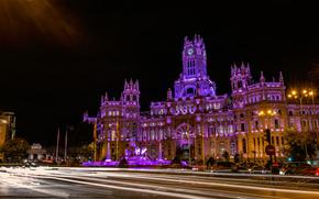 マドリード, スペイン, 夜