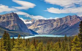 Parco nazionale Jasper, Alberta, Canada, Banff Lake