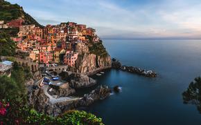 Italy, Cinque Terre, Manarola