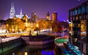 Cattedrale di Colonia, Acqua di colonia, notte