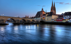 Regensburg, Регенсбург, Германия, Бавария