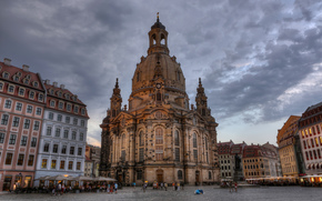 Dresden, Frauenkirche, Church of Our Lady, Germany