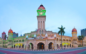 Kuala Lumpur, Piazza Merdeka, città