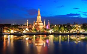 Bangkok, capitale et plus grande ville de Thaïlande, Thaïlande