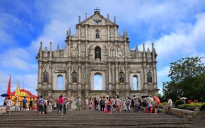 Macau, China, ciudad