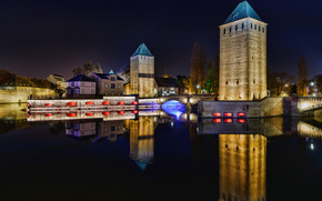 Pont Couverts, Страсбург, Франция