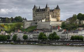 Chateau de Saumur, castello, Francia