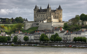 Шато-де-Сомюр, замок, Франция