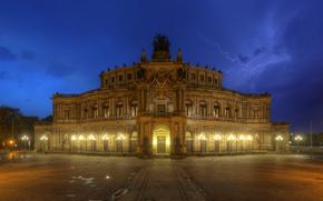 Semper, Opéra, Dresde