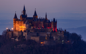Hohenzollern Castle, Baden-Wuerttemberg, Germany