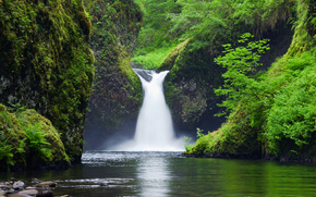 Punchbowl Falls, Eagle Creek, Columbia River Gorge