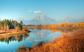 Oxbow Bend, Grand Teton, Wyoming