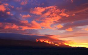 KisenokによってのPersonas, 山脈, 空, 光, 空気, 日没
