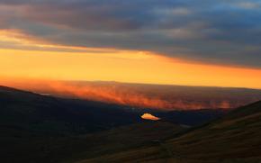 Personas by Kisenok, Mountains, sky, light, air, sunset