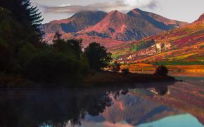 Personas de Kisenok, Montañas, cielo, luz, aire