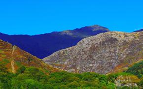 Personas par Kisenok, Montagnes, ciel, léger, air