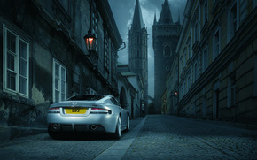 Aston Martin, machine, car