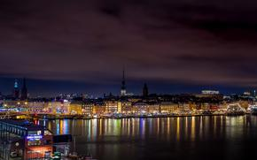 Stockholm, Sweden, city, panorama