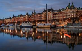 Stockholm, Schweden, Stadt
