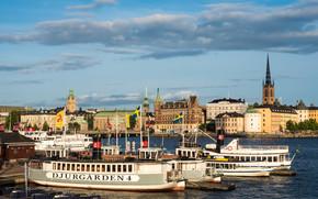 Stockholm, Suède, ville