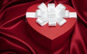 обои от Kisenok, день святого валентина, день всех влюбленных, праздник, сердце, подарок