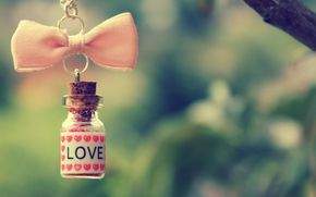Personas by Kisenok, Valentine, Valentine's Day, holiday, heart, hearts, Heart, bottle, bow, love