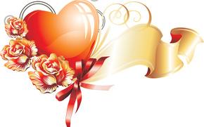 バレンタイン, バレンタインデー, 休日, 心臓, 心, ハート