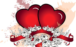 Valentine, Valentine's Day, holiday, heart, hearts, Heart