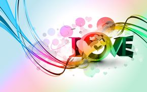 обои от Kisenok, день святого валентина, день всех влюбленных, праздник, сердце, сердечки, сердца, любовь