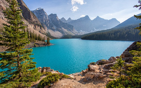 Moraine Lake, Parc national Banff, Alberta, Canada