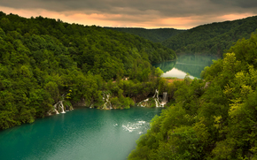 Plitvice Lakes National Park, croazia, cascata
