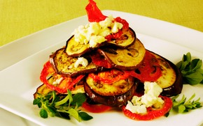 food, Food, cookery, Food, appetizer, Eggplant, tomatoes