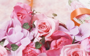 Flowers, flower, rose, Roses, bouquet, COMPOSITION