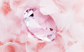 pietra, diamante, strass, vetro, taglio, decorazione, donazione, POOH, piumaggio, vacanza