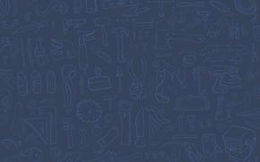 sega, ascia, coltello, trapano, martello, triangolo, cavatappi, spatola, tronchesino, lattine, Maglio, straccio, tagliacarte, rottame, cacciavite, gas chiave, Chiave, lampadina, maschera, montaggio, mobile, amanita, eccetera